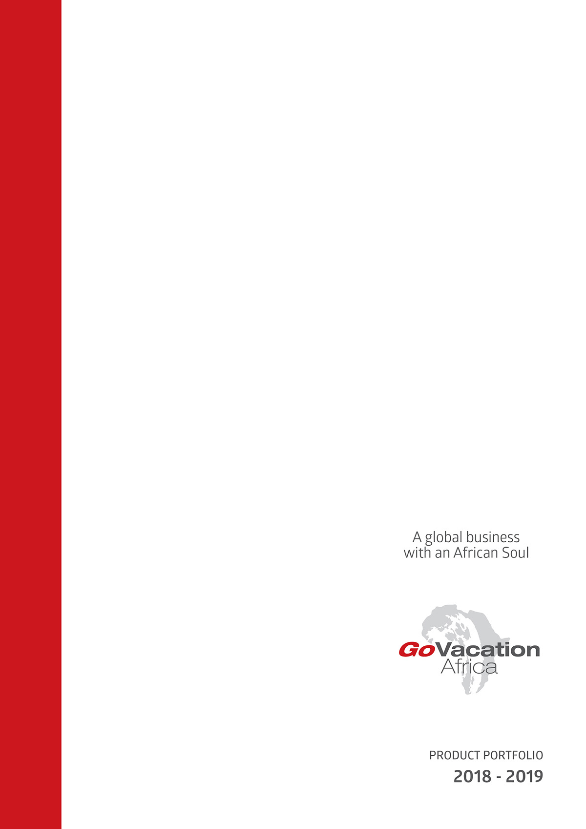 Go Vacation Product Cover 2018