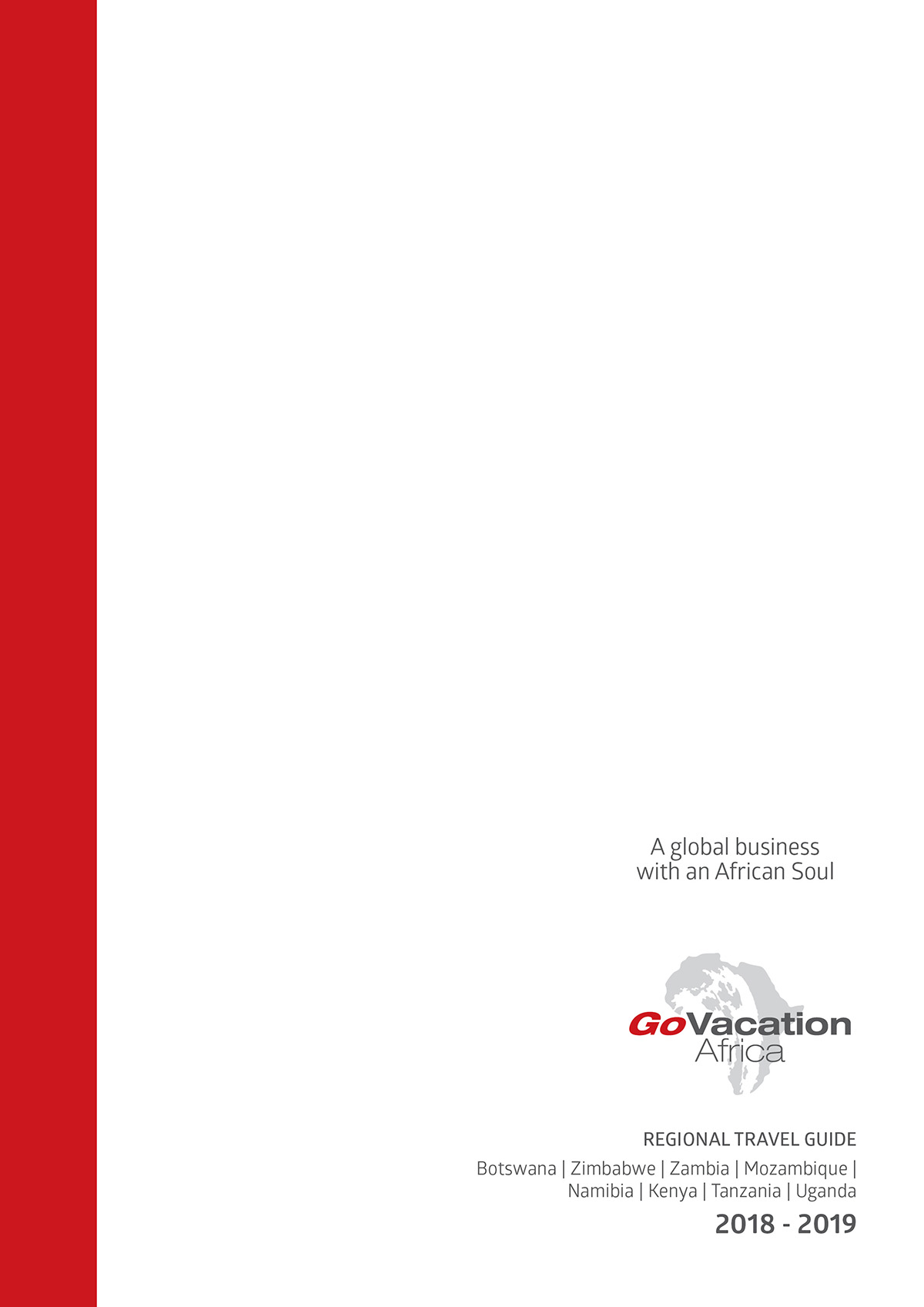 Go Vacation Regional Guide Cover 2018